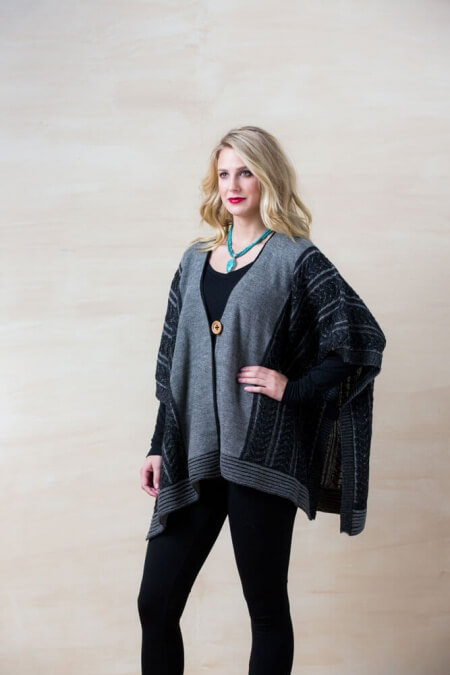Trenza Capa Braided Cape